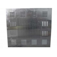 Buy cheap Low Noise SUS304 Exhaust Fan Filter Box HEPA Filter Box For Clean Room product