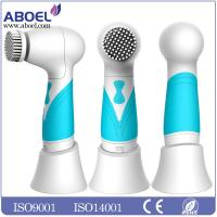 China Blue Girls Electric Facial Cleansing Brush IPX7 Waterproof Rate wholesale