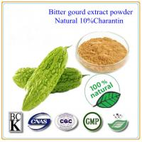 Buy cheap Balsam Pear Extract No Any Additives 10% charantin bitter melon extract powder product