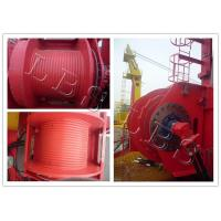 Buy cheap Single Drum Electric Winch Machine 45kn 50kn Rated Load For Hoist And Marine product