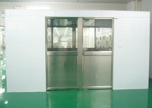 Buy cheap Three Side Blowing Auto Sliding Door Air Shower Tunnel Class 100 Cleanliness Level product