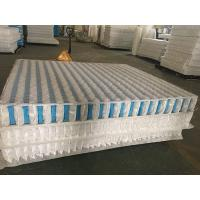 Buy cheap 3D non-woven cover high carbon steel wire mattress independent spring unit. product
