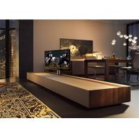Buy cheap Fashion Apartment Furniture Sets / Hotel TV Cabinet With Drawers High Standard Customized Size product