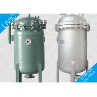 Filter Bag Housing For Automotive , Stainless Filter Housing For Paints Filtration