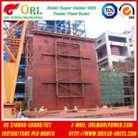 Buy cheap 10T - 1000 Ton CFB Boiler Petrochemical Biomass Industry Superheater Coils High / Low Pressure product
