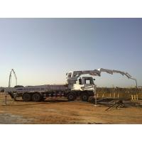 Buy cheap 8x4 Concrete Pump Trucks 47m Isuzu Rz-Shaped Boom Truck 287kW product