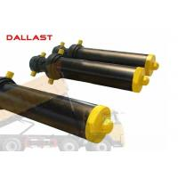 Buy cheap Hollow Plunger Single Acting Telescopic Cylinder Dump Truck Front Hydraulic Type product