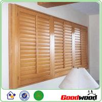 Plantation pvc exterior decorative adjustable louver shutter window 96428116 for Exterior louvered window shutters