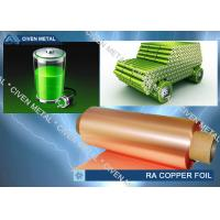 China Rolled copper foils for LI-ION Battery with high quality wholesale