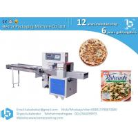 Buy cheap Frozen handmade thick-soled pizza high speed automatic pillow type packing machine product
