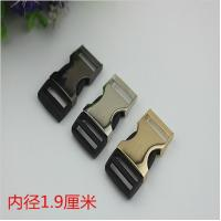 Buy cheap RLOVE 19MM Gold Metal Side Fast Release Buckle by Zinc Alloy Wholesale product