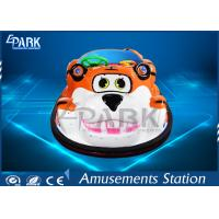Buy cheap Lovely Tiger Shape Toddler Bumper Cars / Electric Bumper Karts For Kids product