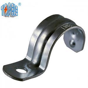 Buy cheap 1 inch emt straps conduit strap,unistrut channel,zinc plated steel product