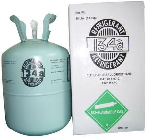Buy cheap Preço 99,9% de alta qualidade do gás do líquido refrigerante de HFC-134a bom product