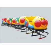 China Durable Big Capacity Ride On Toy Train With Tracks Galvanized Iron Pipe + LLDPE on sale