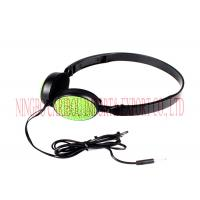 Buy cheap Foldable Noise Cancelling Headphones Wired Communication For Mobile Phone product
