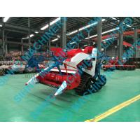 Quality 4LZ-0.7 rice and wheat combine harvester, small paddy farm harvester for sale