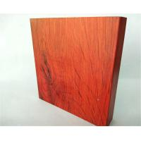 Buy cheap T5 , T6 Red Wardrobe Aluminium Profile Lenth Or Shape Customized product