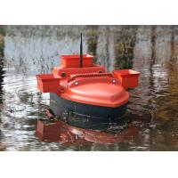 Buy cheap RC model shuttle bait boat , ABS engineering plastic radio controlled bait boat product