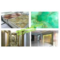 Buy cheap Low cost, easy installation PVC marble wall panel extrusion and laminating production line product