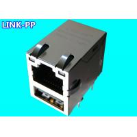 China Combo USB Rj45 LPJU3101AHNL 10 / 100Base-T USB-to-Ethernet Modules PC Mainboard on sale