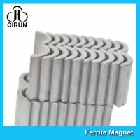 Buy cheap Small Arc Shape Ceramic Ferrite Magnets Free Energy High Performance product