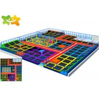 Quality Trampoline Indoor Playground Ninja Course Provide Installation Instructions for sale