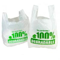 Buy cheap Convenient Biodegradable Refuse Bags , Disposable Compost Bags 1 Or 2 Sides Printing product