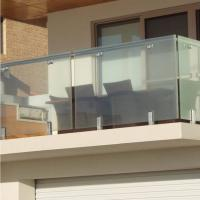 Buy cheap High Quality Modern Design Stainless Steel and Glass Balcony Railings product