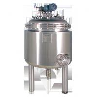 Buy cheap 3000L custom durable High Density Horizontal double - layer Stainless Steel Tank  Agitator product