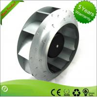 Buy cheap 280mm EC Blower Fan / Centrifugal Ventilation Fans Backward Curved For Heat Pumps product