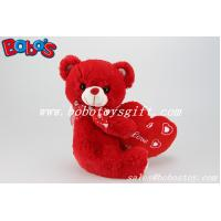 Buy cheap Customized Big Red Heart Teddy Bear Toy As Engagement gifts or Wedding Gifts product
