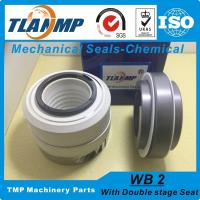 China WB2-25 WB2/25 PTFE Teflon bellows Burgmann mechanical seals For Chemical Pumps with Double Stage seat on sale