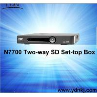 Buy cheap DVB-C two-way SD set top box from wholesalers