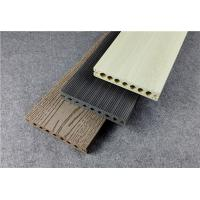 Buy cheap Wood Plastic Composite Floorings Hollow Co-extrusion DIY Deck Tiles product