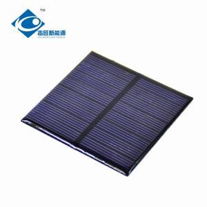 China Portable Power Source Monocrystalline Solar Panel , 4V 0.6W Mini Solar Panel Module on sale