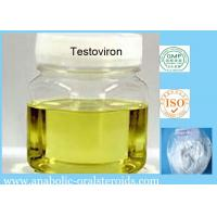 Buy cheap 58-22-0 Injectable Finished Yellow Liquid Testoviron / Testosterone Blend for Bodybuilding product