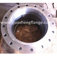 A105 carbon steel welding neck pipe flange