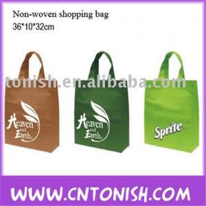 China Non-woven shopping bag notebook cooler bag on sale