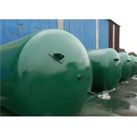 Buy cheap ASME Approved Horizontal Air Receiver Tanks For Air Compressors Systems product