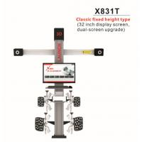 Buy cheap Original LAUNCH X831T 3D 4-Post Car Alignment Lifts Platform Classic Fixed from wholesalers