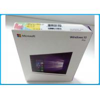 Buy cheap Multi - Language Product OEM Key Microsoft Windows 10 Pro Pack With DVD OEM product
