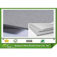 Buy cheap SGS Certified Hardcover Book Grey Board / Straw Board Paper Rigid Mixed Pulp product