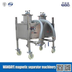 Haute machine magnétique permanente de séparateur d'acier inoxydable de cavité de double de gradient