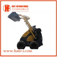 Buy cheap China Best Choice   Mini Wheel skid steer loader SSL-C300B USA Briggs&Stratton engine(23hp), bucket 0.15m3, Solid Tyres product