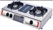 Quality Gas stove with BBQ grill for sale