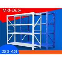 Buy cheap Eco Friendly Warehouse Storage Shelves Industrial Metal Shelving 2000*600*2000mm product