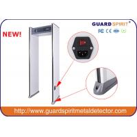 Buy cheap Guard Spirit 6 Zone Archway Metal Detector / Walk Through Metal Detector With 4 Led Columns product