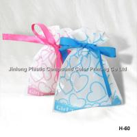 Buy cheap OPP Durable Plastic Gift Bags Color Printing With Tin Tie / Ribbon Of Gift product