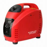 Buy cheap Inverter Portable Generator with 1.0kVA Rated Output Power and Unleaded Gasoline Fuel product